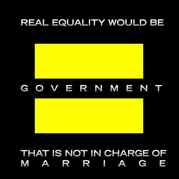 Libertarian Equal sign