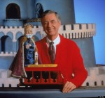 Mr. Rogers with King Henry of the Land of Make Believe
