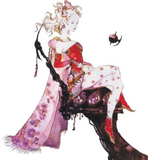 Terra, the heroine of Final Fantasy VI. We could use more characters like her.