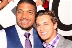 Michael Sam and Boyfriend